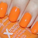 esmalte laranja