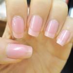 esmalte rosa claro