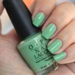 esmalte verde nude