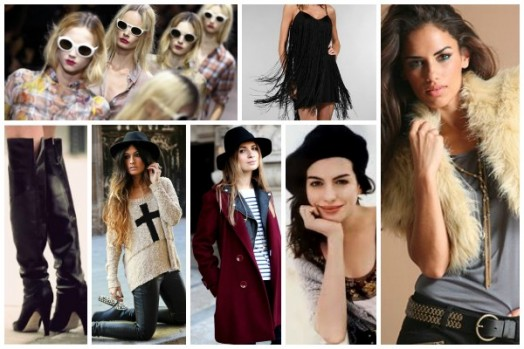 O inverno pede roupas mais quentes e acessórios que combinem