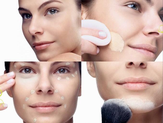 Usar maquiagem oil free é a melhor opção para quem tem ´pele oleosa