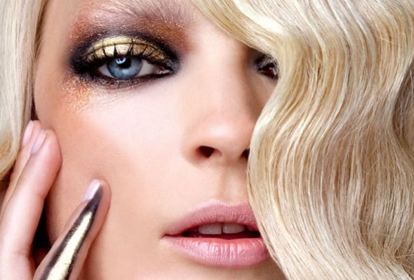 Maquiagem ideal para loiras