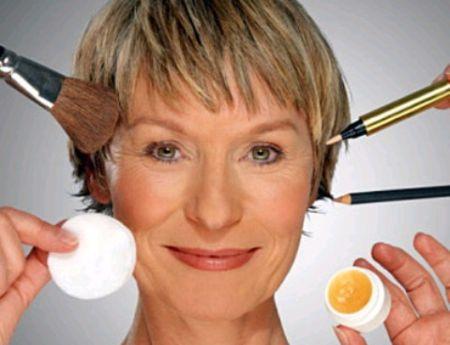 Os produtos devem ser específicos para pele madura