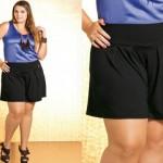 Mulheres Gordinhas podem usar shorts – Dicas para mulheres gordinhas usarem shorts 06