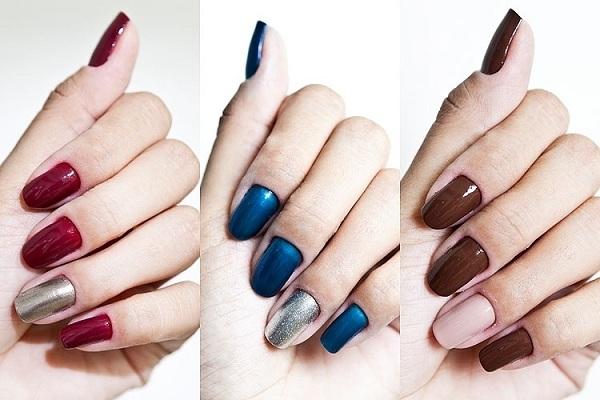 As cores podem variar conforme a preferência de cada mulher
