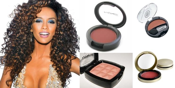 Escolher a cor do blush ideal é fundamental