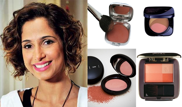 As cores do blush combinam com cada tom de pele