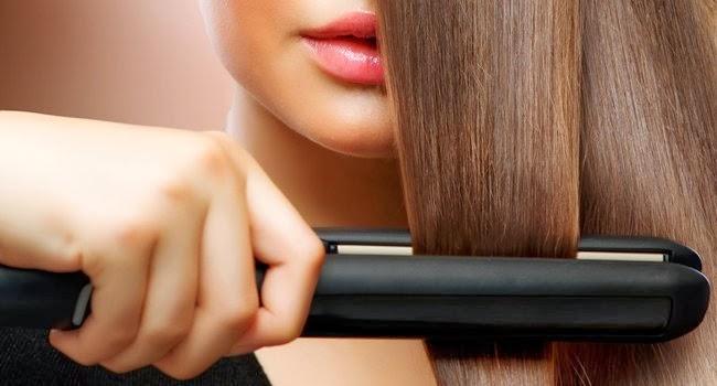 Se você usar a chapinha da forma correta ela não danifica os cabelos
