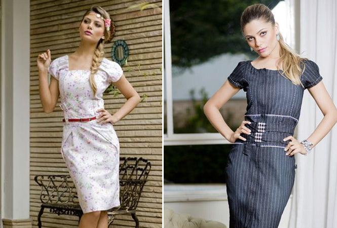 Os vestidos deixam a mulher Evangélica elegante e discreta, além de ser uma peça coringa.