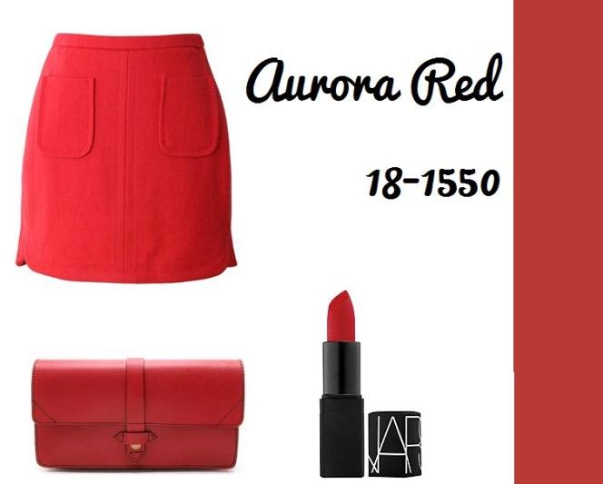 Aurora Red 18-1550