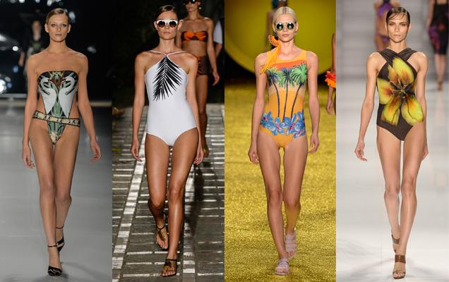 Principais tendências da moda praia 2015