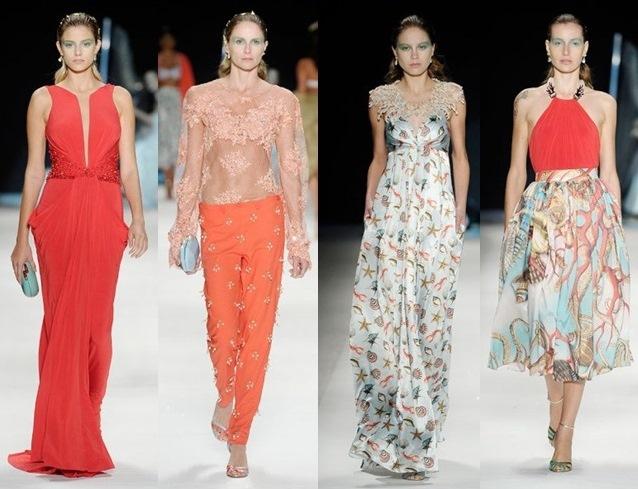 Os vestidos também aderem a transparência e ficam elegantes e sensuais