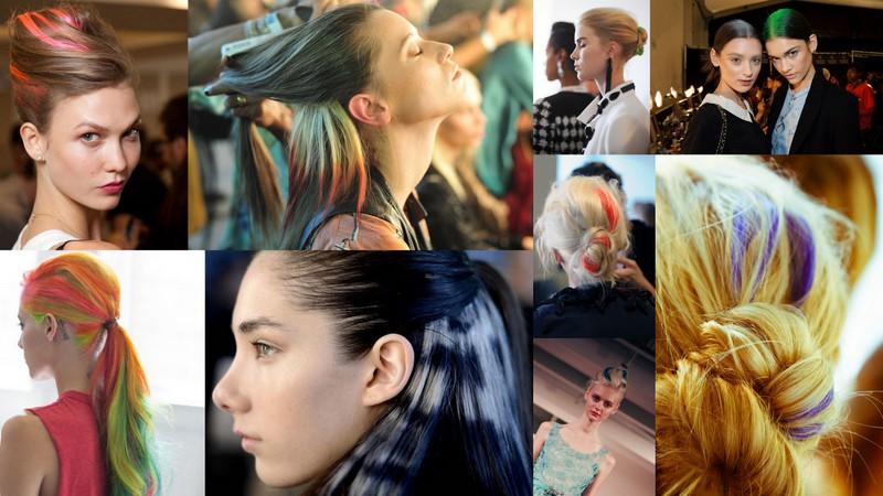 Se jogue na tendência dos cabelos coloridos