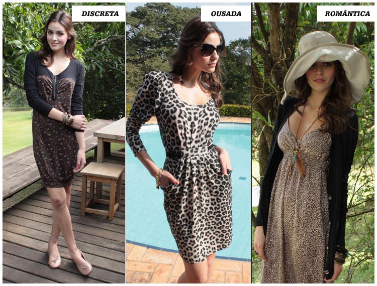 Você pode passar sua personalidade na maneira de se vestir até com vestido de oncinha
