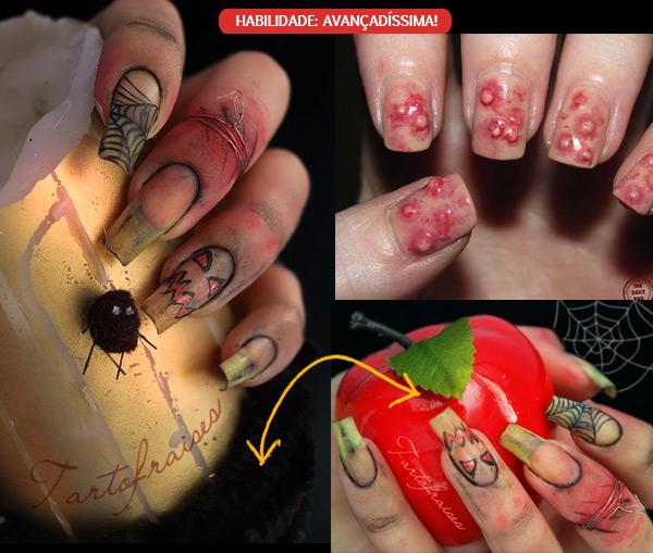 Modelos de unhas para Halloween (Foto: Divulgação)