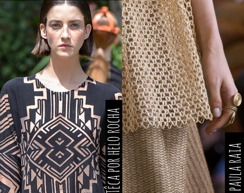 As roupas de tecido vazado podem ser usadas em qualquer ocasião