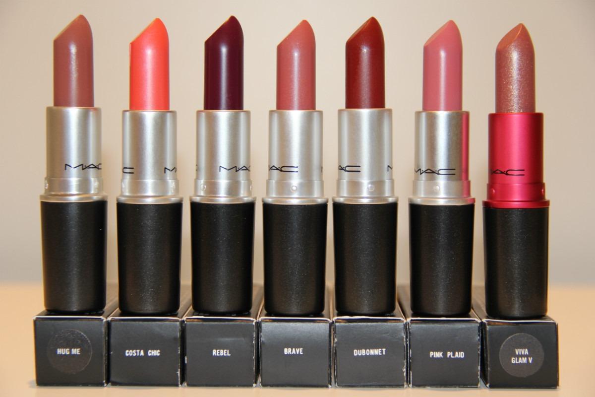 Batons Mac que as mulheres mais adoram  (Foto: Divulgação)