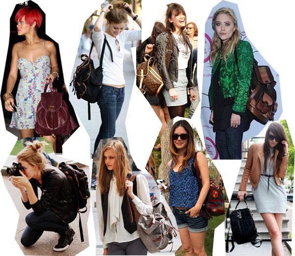 Bolsa Mochila Feminina Como Usar : Mochilas femininas as queridinhas das meninas
