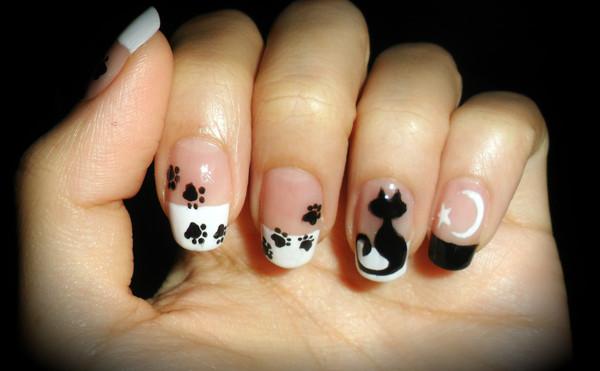Aprenda a fazer unhas decoradas com gatinhos (Foto: Divulgação)
