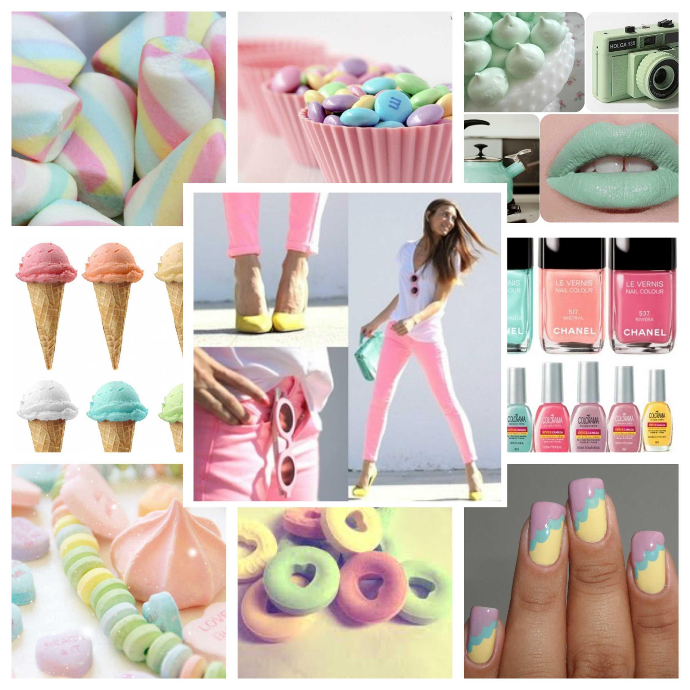 Candy Color vai fazer sucesso no verão 2015 (Foto: Divulgação)