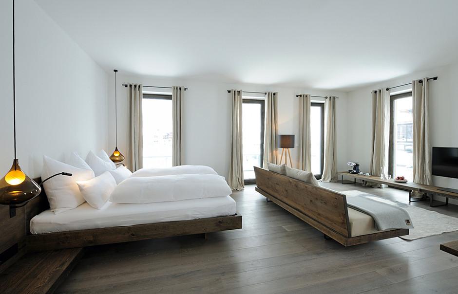 Chambre A Coucher Chez Mobilia Casa : Decoração minimalista é sinônimo de conforto
