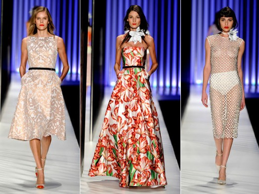 Tendências de vestidos verão 2015 (Foto: Divulgação)