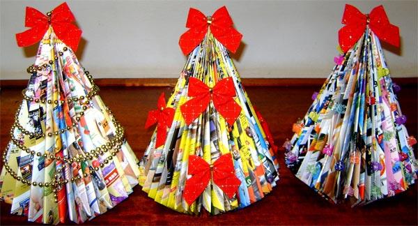 Árvore de Natal de revista