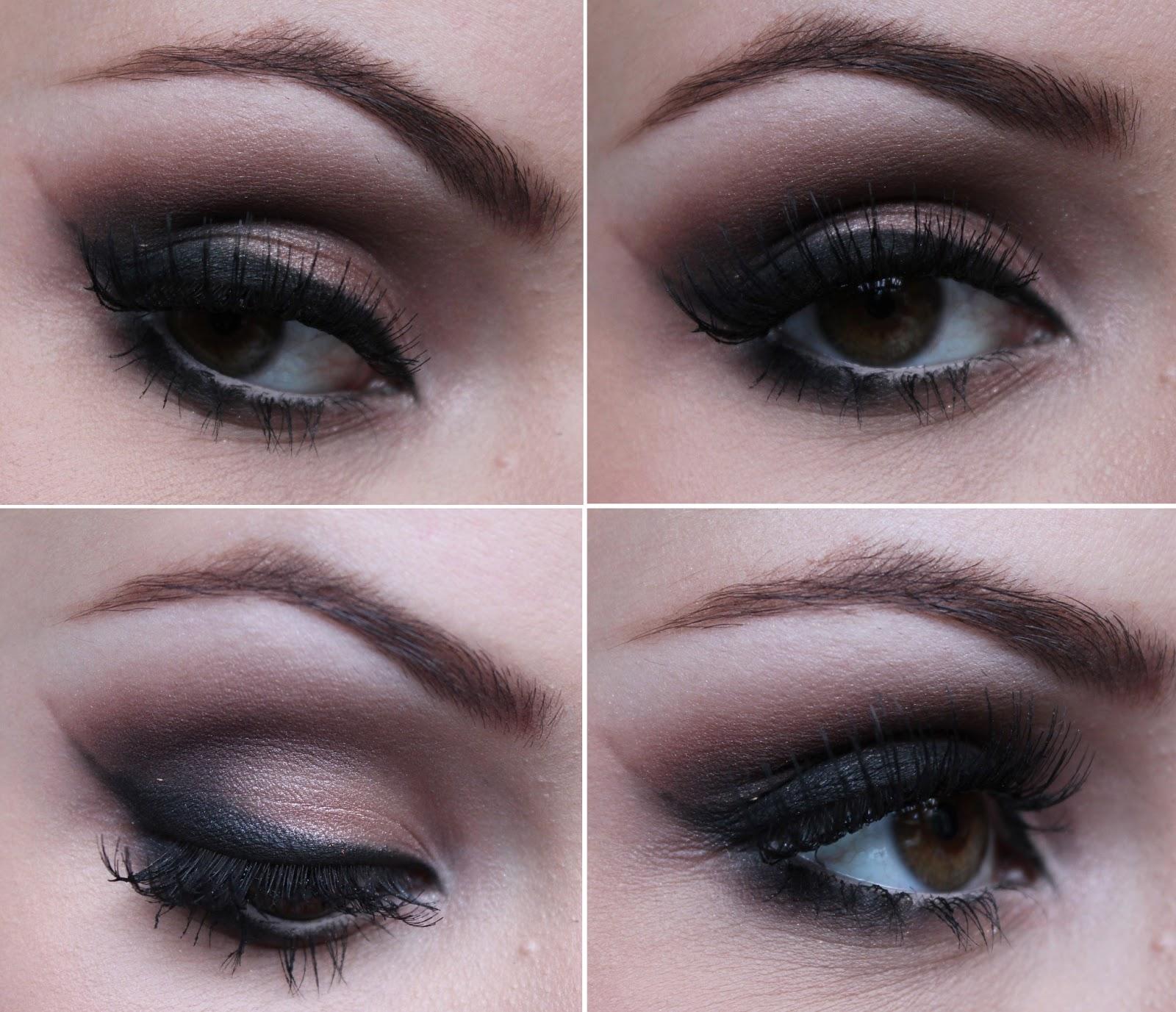 Combinar tons claros e escuros nos olhos