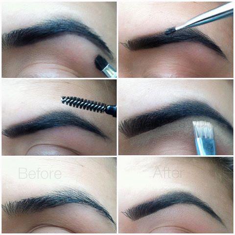 Como desenhar as suas sobrancelhas