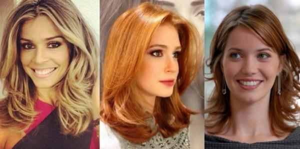 Nem curto nem longo é hora do cabelo médio