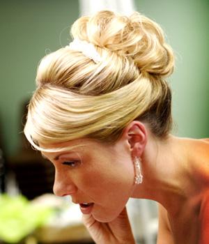 penteados com coques modernos