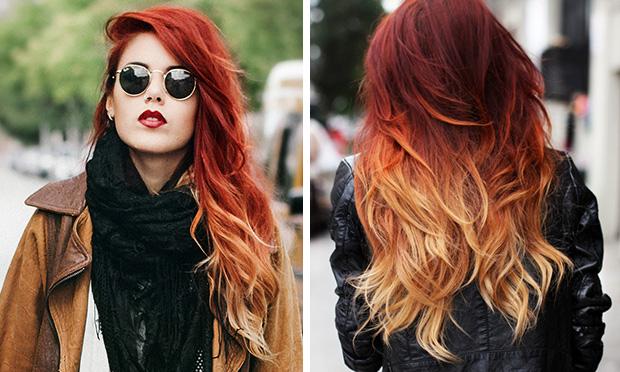 Cores de cabelo inverno