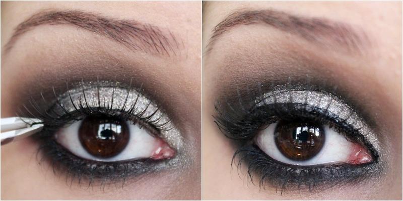Sombra prata na maquiagem verão