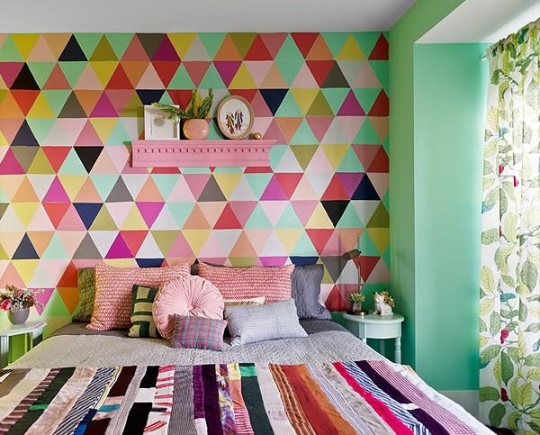 Tendência de decoração para quarto