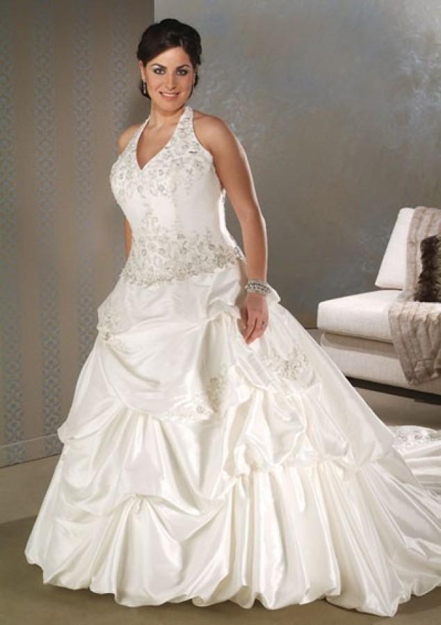 Vestido De Noiva Plus Size-1672