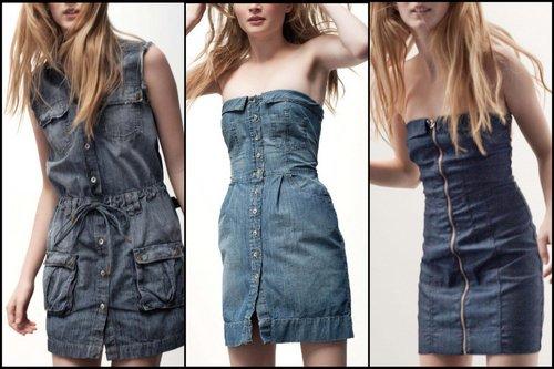 Vestidos jeans1