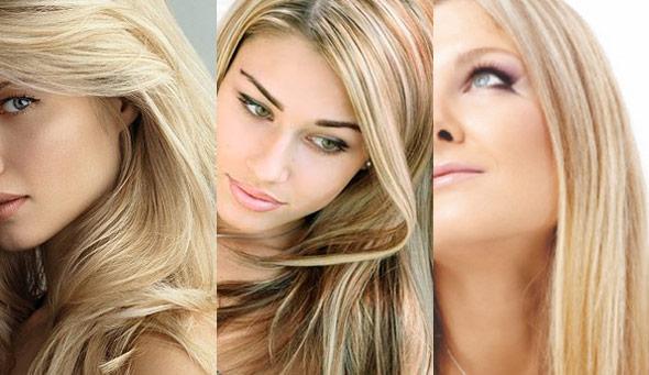 cabelos loiros no verão