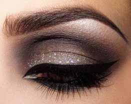 Sombra glitter em pó do Boticário da linha Capricho