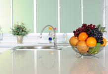 cozinha bem limpa