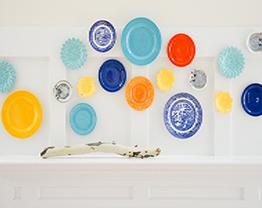 decorar-parede-com-pratos