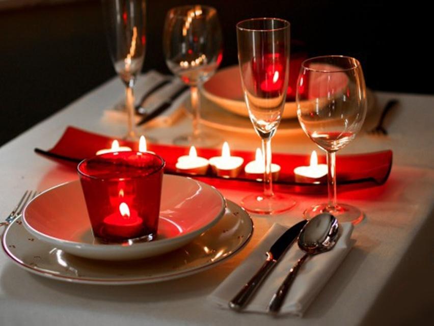 Surpresa para o namorado - Jantar romântico