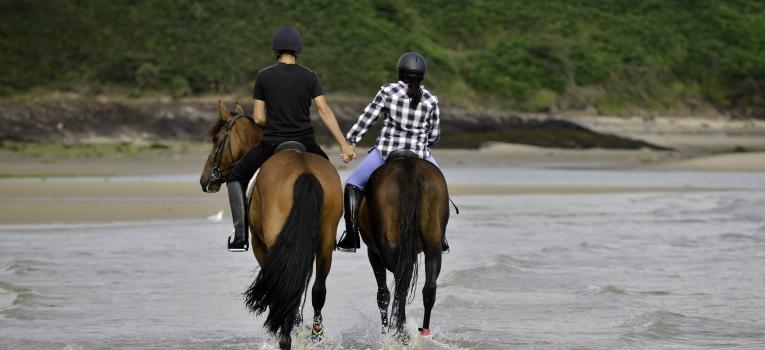 Surpresa para o namorado - Montar a cavalo