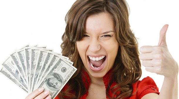 mulher e dinheiro