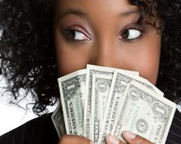 A mulher e o dinheiro