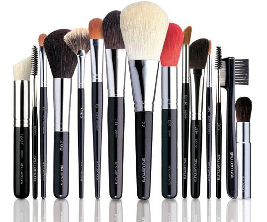 Tipos de pincéis e escovas