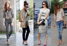 roupas com brilho