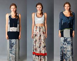 Saias longas para o verão - modelos e combinações