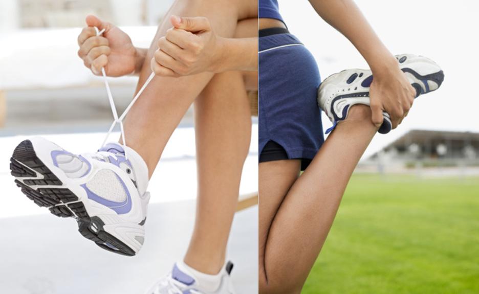 tênis para fazer exercícios
