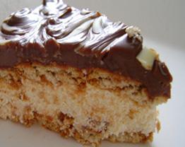Torta de bolachinha deliciosa