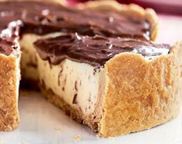 Receita de Torta de maracujá com cobertura chocolate (ou geleia de maracujá)